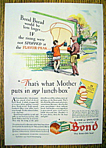 Vintage Ad: 1931 Bond Bread