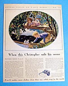 Vintage Ad: 1932  P & G White Naptha Soap (Image1)