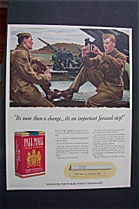 1941 Pall Mall Cigarettes with Soldiers By John Falter (Image1)