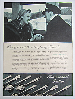 1945 International Sterling with Ready To Meet Family (Image1)