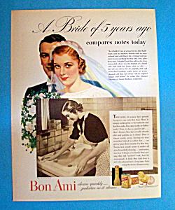 Vintage Ad: 1937 Bon Ami (Image1)