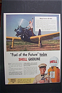 1941 Shell Gasoline With Fuel Of The Future