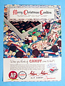 Vintage Ad: 1949 A & P Candy