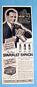 Vintage Ad: 1941 Sparklet Syphon (Image1)