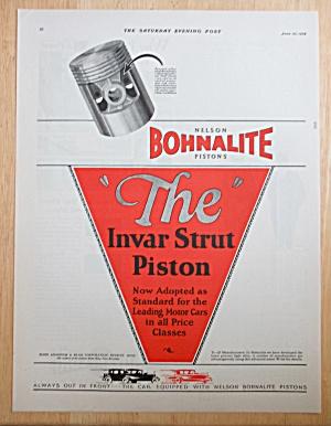1928 Bohnalite Invar Strut Piston Rings (Image1)