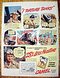 Vintage Ad: 1941 Camel Cigarettes with Charlie Dewey (Image1)