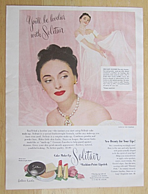 1949 Solitair Fashion Point Lipstick w/ a Lovely Woman (Image1)