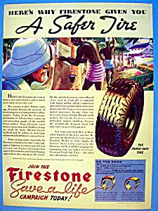 Vintage Ad: 1937 Firestone Tires (Image1)