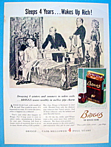 Vintage Ad: 1937 Briggs Pipe Mixture (Image1)