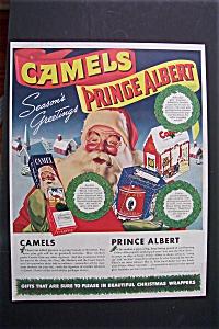 1941 Camel Cigarettes & Prince Albert Tobacco (Image1)