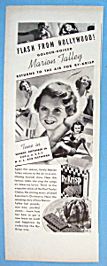 Vintage Ad: 1937 Ry-krisp W/marion Talley