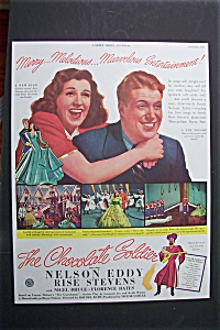 Vintage Ad: 1941 The Chocolate Soldier With Nelson Eddy