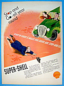 Vintage Ad: 1937 Super Shell Gasoline
