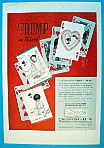 1937 Chesapeake & Ohio Lines With Straight Flush