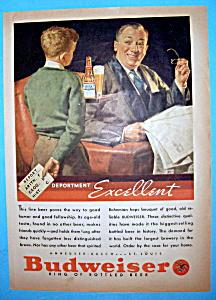 Vintage Ad: 1935 Budweiser Beer (Image1)