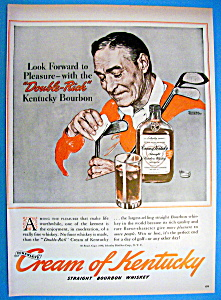 Vintage Ad: 1940 Cream Of Kentucky By Norman Rockwell