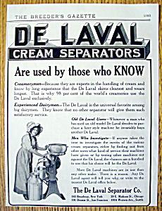 Vintage Ad: 1912 De Laval Cream Separators (Image1)