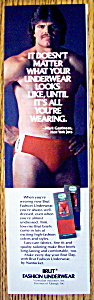 Vintage Ad:1982 Brut Fashion Underwear W/mark Gastineau