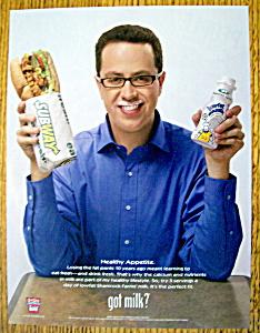 Vintage Ad: 2008 Got Milk with Jared Fogle (Image1)
