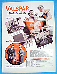 1937 Valspar with 3 Children Playing In A Tub Of Water (Image1)