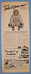 Vintage Ad: 1941 Wheaties Cereal (Image1)