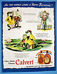 Vintage Ad: 1942 Calvert Whiskey (Image1)