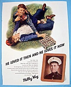 Vintage Ad: 1942 Milky Way (Image1)