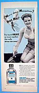 1944 Skat with Woman Gardening  (Image1)