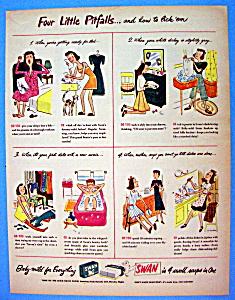Vintage Ad: 1946 Swan Soap (Image1)