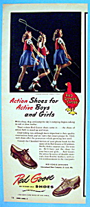 Vintage Ad: 1946 Red Goose Shoes
