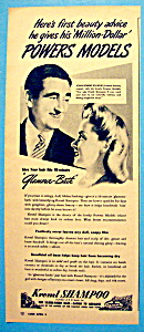 Vintage Ad: 1946 Kreml Shampoo w/Powers Models (Image1)
