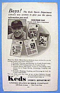 Vintage Ad: 1942 Keds Sports Department (Image1)