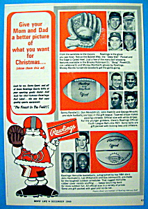 Vintage Ad: 1966 Rawlings with Mantle, Mira & More (Image1)