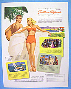 Vintage Ad: 1947 Southern California (Image1)