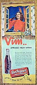 Vintage Ad: 1947 Dr. Pepper (Image1)