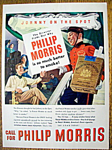 1947 Philip Morris with Johnny On The Spot (Image1)