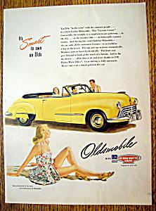 Vintage Ad: 1947 Oldsmobile (Image1)