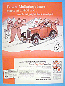 Vintage Ad: 1941 Texaco Dealers By Gluyas Williams (Image1)