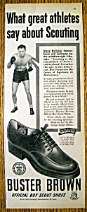 Vintage Ad: 1951 Buster Brown Shoes W/steve Belloise