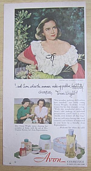 1951 Avon Cosmetics with Teresa Wright  (Image1)