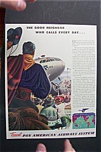 Vintage Ad: 1941  Pan  American  Airlines (Image1)
