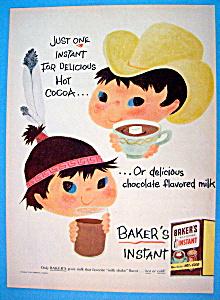 Vintage Ad: 1956 Baker's Instant Mix (Image1)