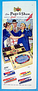 Vintage Ad: 1957 Page & Shaw Candy (Image1)