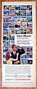 Vintage Ad: 1962 Sawyer's View Master