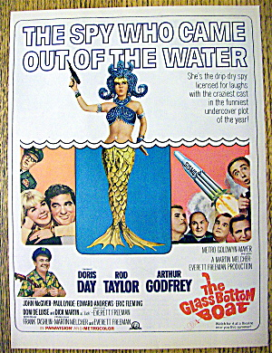 1966 The Glass Bottom Boat With Doris Day & Rod Taylor