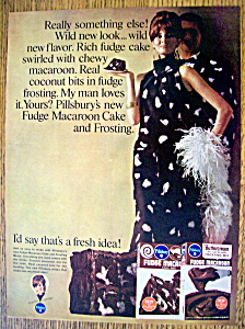 Vintage Ad: 1966 Pillsbury Fudge Macaroon (Image1)