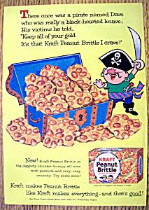 Vintage Ad: 1960 Kraft Peanut Brittle (Image1)