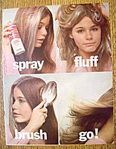 Vintage Ad: 1973 Psssst Instant Shampoo with Susan Dey (Image1)