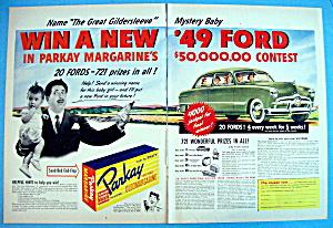 Vintage Ad: 1948 Parkay Margarine w/Great Gildersleeve (Image1)