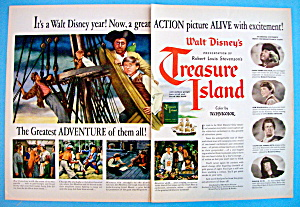 Vintage Ad: 1950 Treasure Island w/Bobby Driscoll (Image1)